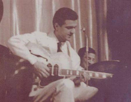 """Totò Savio all'""""Olympia"""" di Parigi, che suona nel quartetto Marino Marini"""